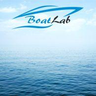 Badestige 4 trin i kassette  monteres u/bådplatform m/lås