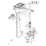 Drive shaft housing - gear case - handle