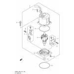 Ptt motor transom(x,xx) (df250z e03)