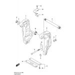 Clamp bracket transom(l) (df200t e03)