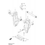 Clamp bracket (df200at)(df200az)