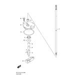 Clutch rod (df150t)(df150st)(df175t)