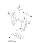 Clamp bracket transom(l) (df200t)