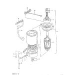 Starting motor (model qd)