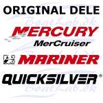 Quicksilver, D Shaft Hsg-Blk (Orig.nr: 825218T5)