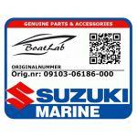 Suzuki, Bolt (Orig.nr: 09103-06186-000)