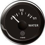 VDO, Tankmätare, Vatten (4-20 mA), Ø 52 mm, Svart - 1st.